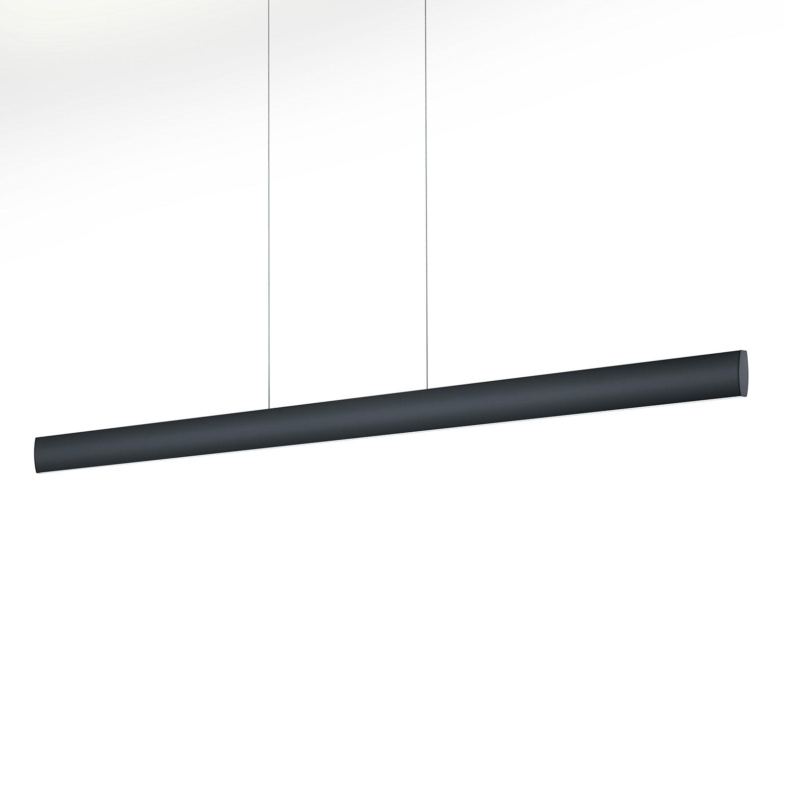 LED hanglamp Runa, zwart, lengte 132 cm