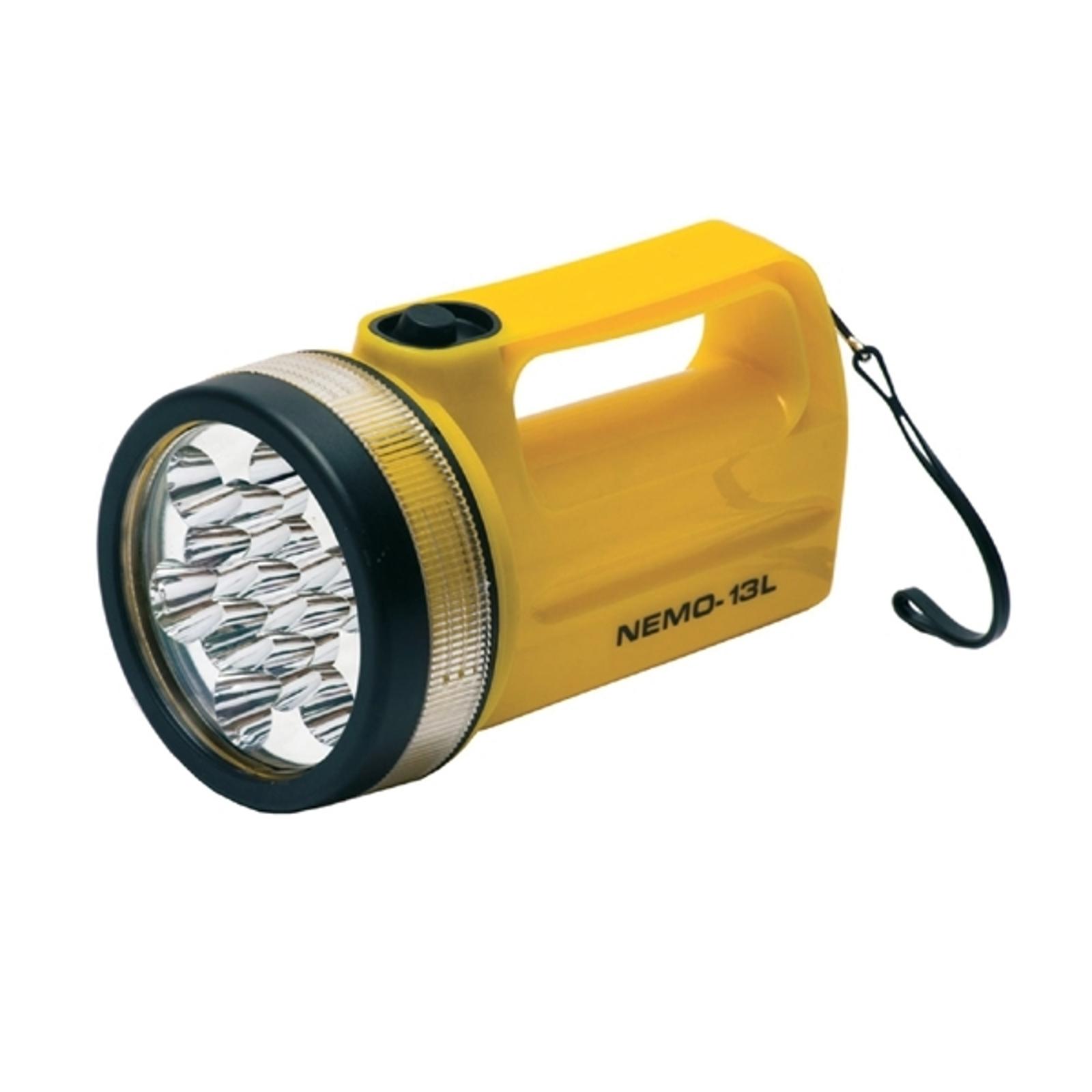 Wasserbeständiger LED-Handscheinwerfer NEMO-13L