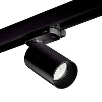 LEDS-C4 Atom spot HV-skinne, svart, 3 000 K, 43°