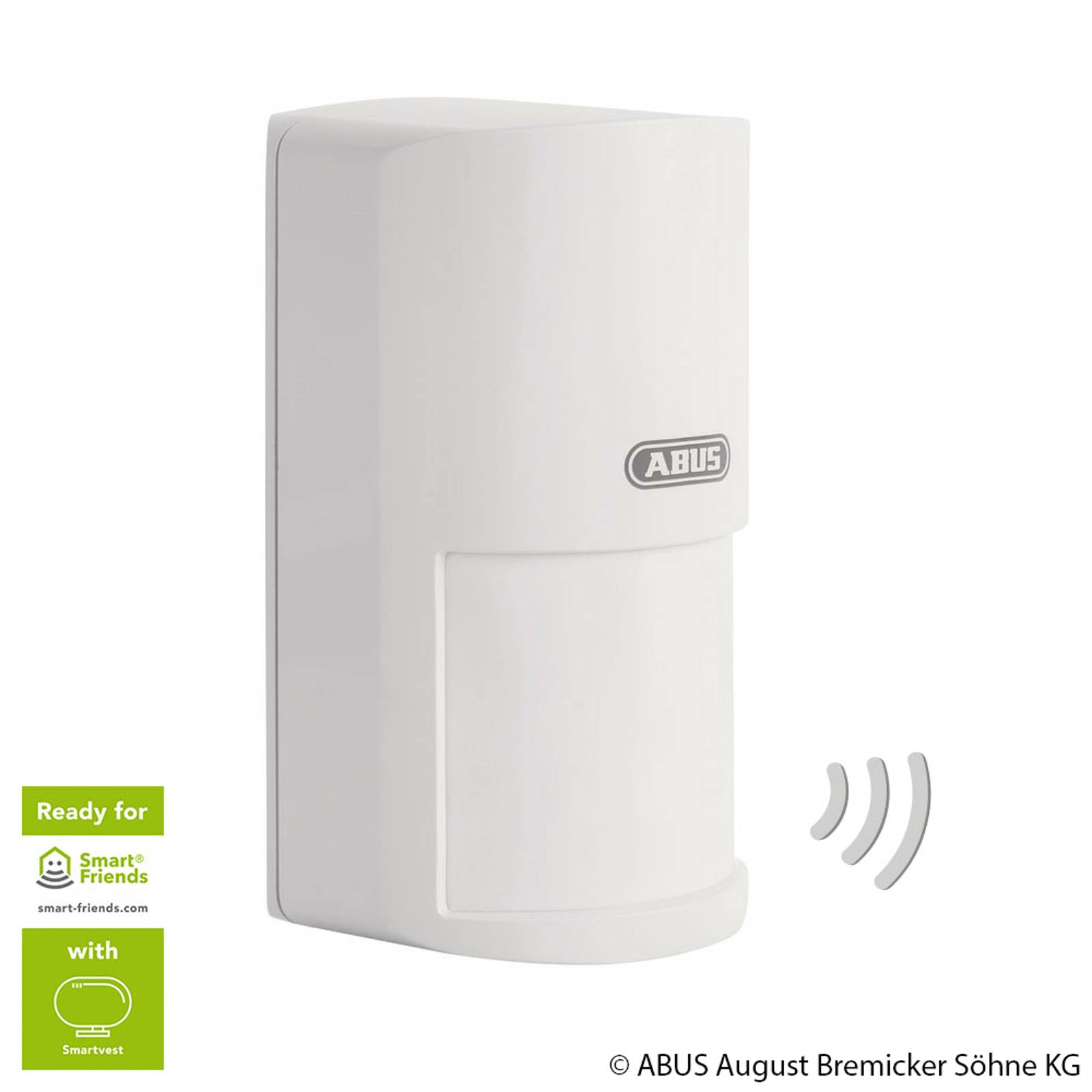 ABUS Smartvest trådlös-rörelsesensor