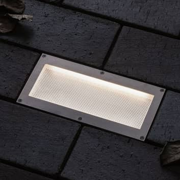 Paulmann Brick LED-Bodeneinbauleuchte, 10x20cm