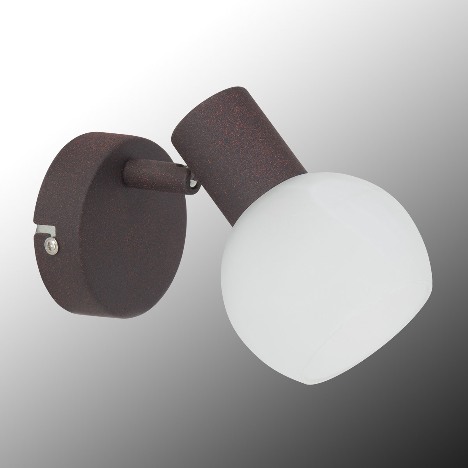 Contrasterende wandlamp Gabon