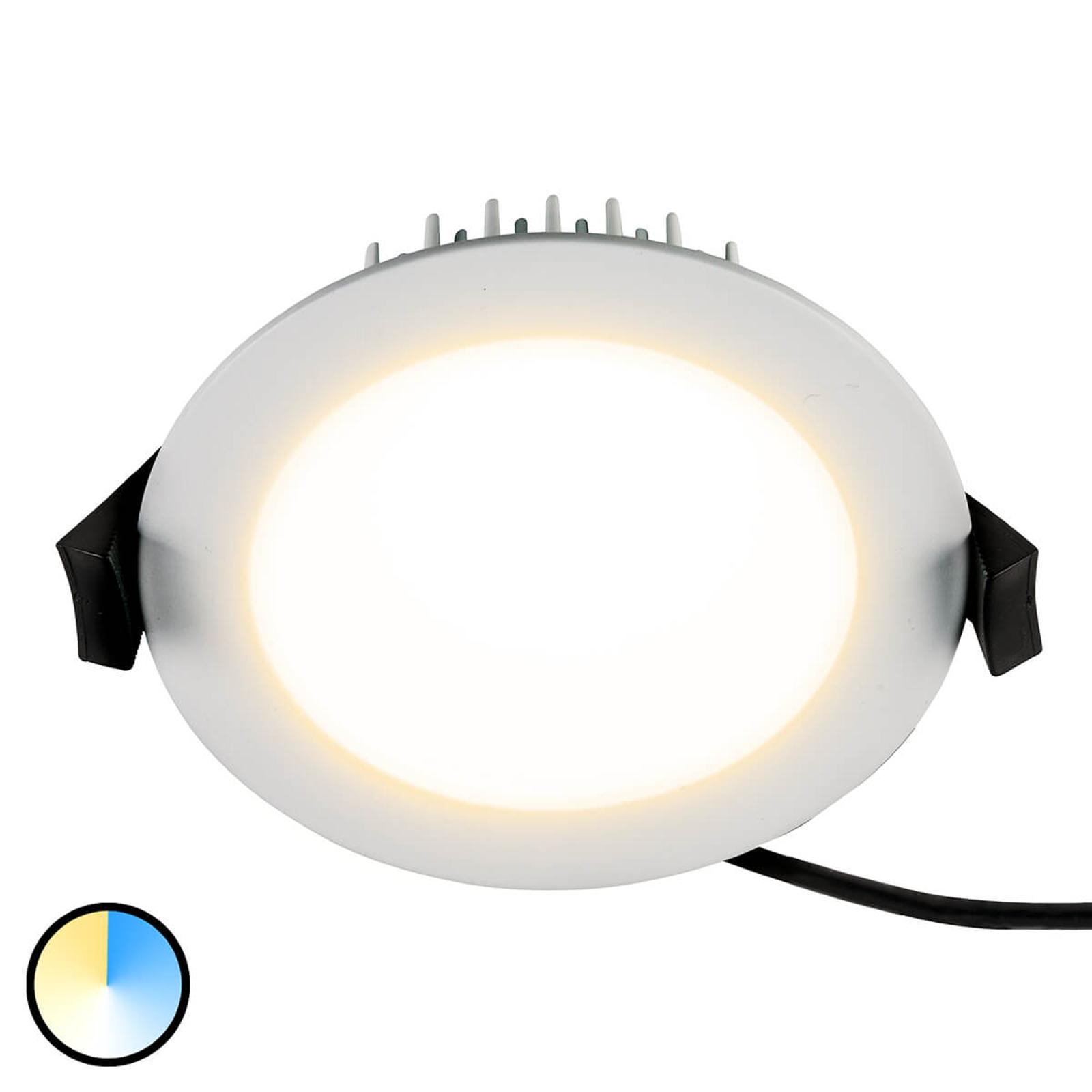 LED-Einbaustrahler Lino 3.000K-5.700K 13 W weiß