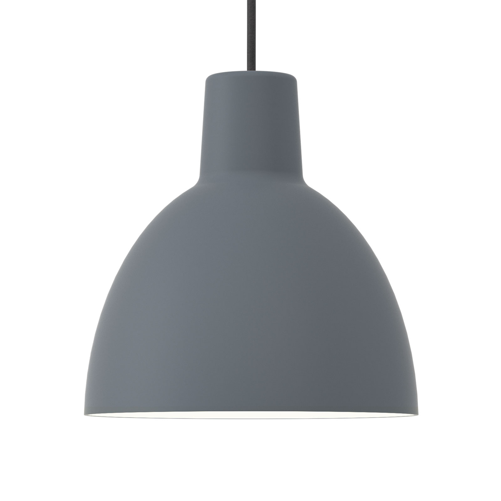 Louis Poulsen lámpara Toldbod 250, azul gris