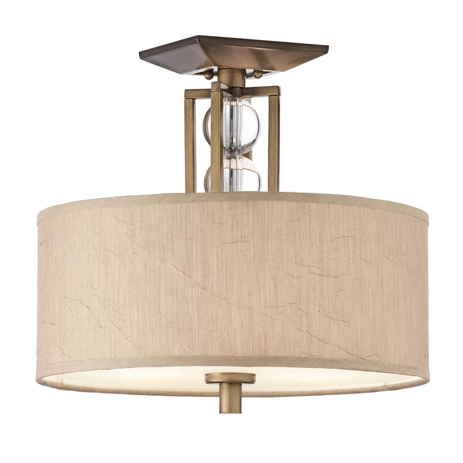 Plafondlamp Celestial met textiel lampenkap