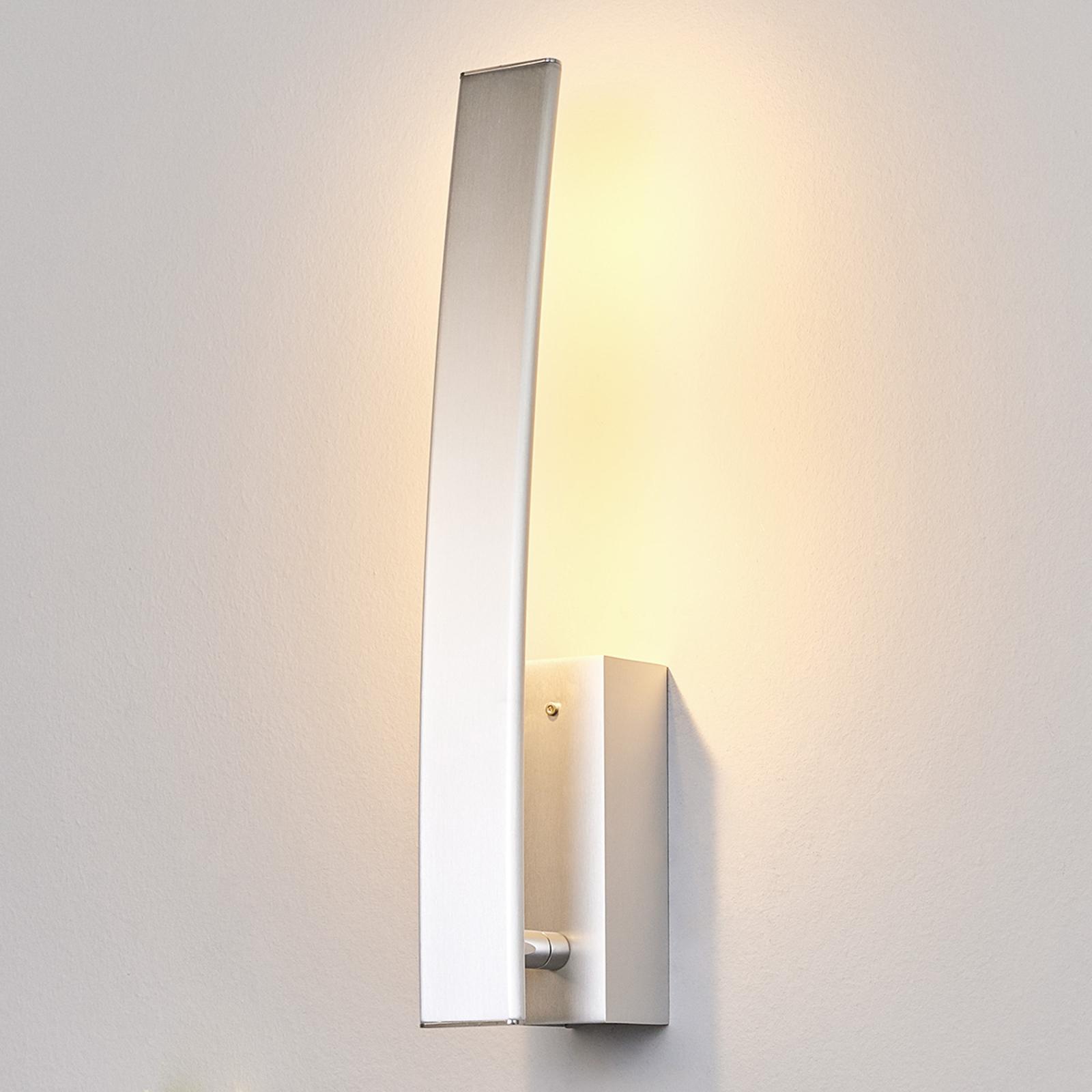 Med bryter - høyverdig LED-vegglampe Xalu