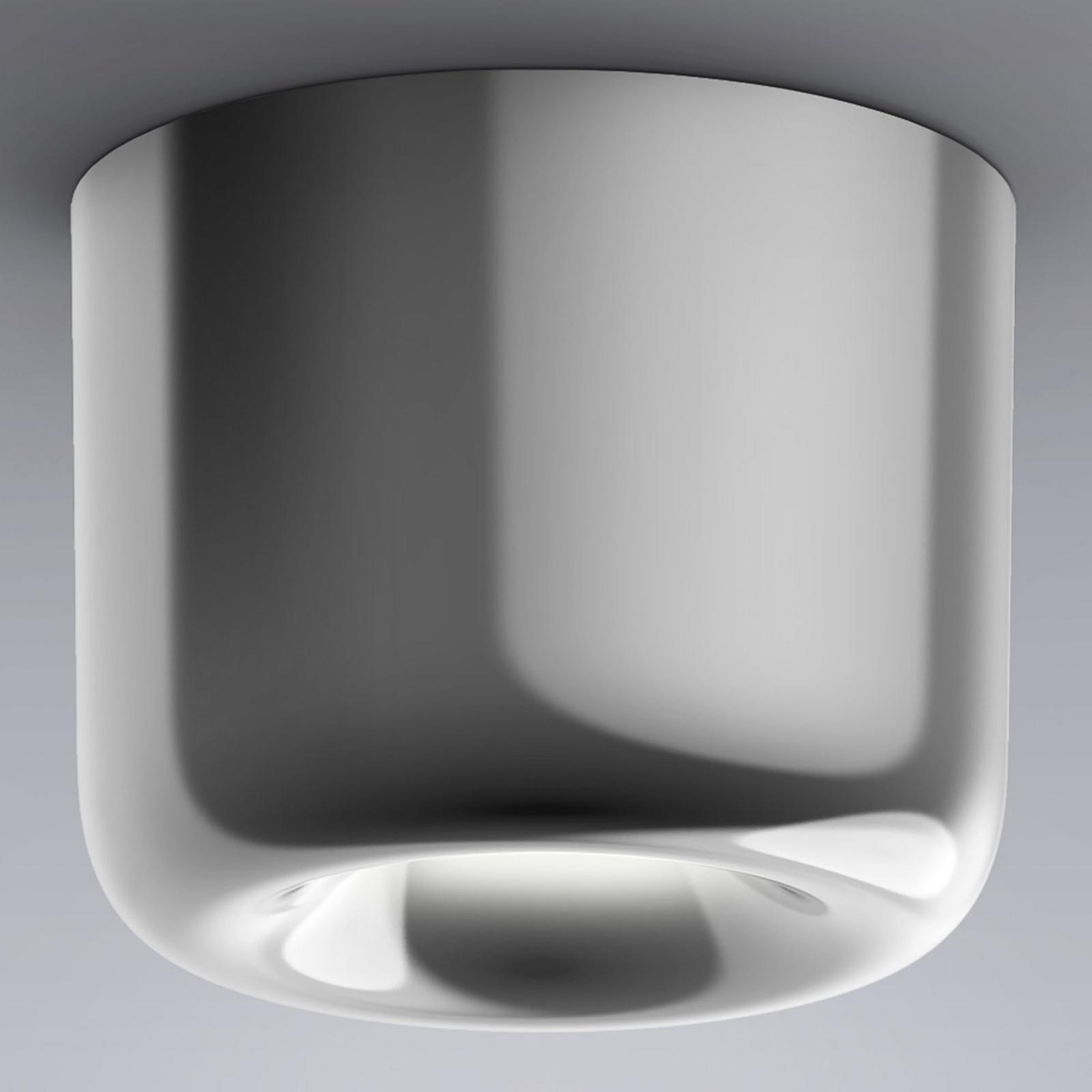 serien.lighting Cavity Ceiling L, blank aluminium