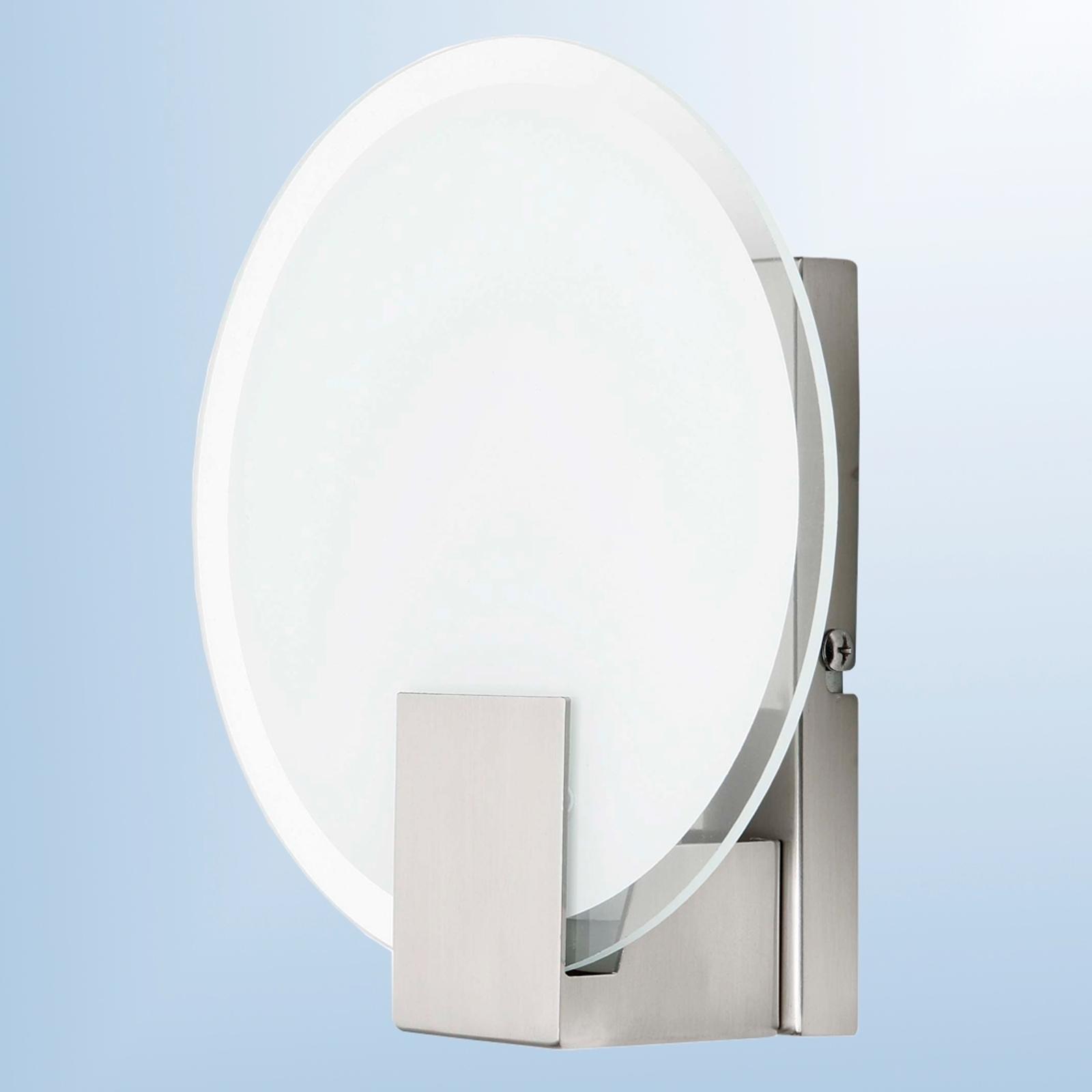 Elegante lámpara de pared Sonian redonda