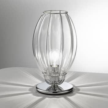 Bordslampa Nautilus, transparent