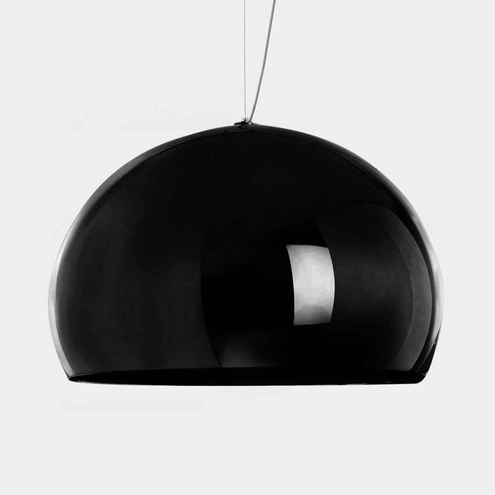 Billede af Kartell FL/Y - LED-hængelampe, blank sort