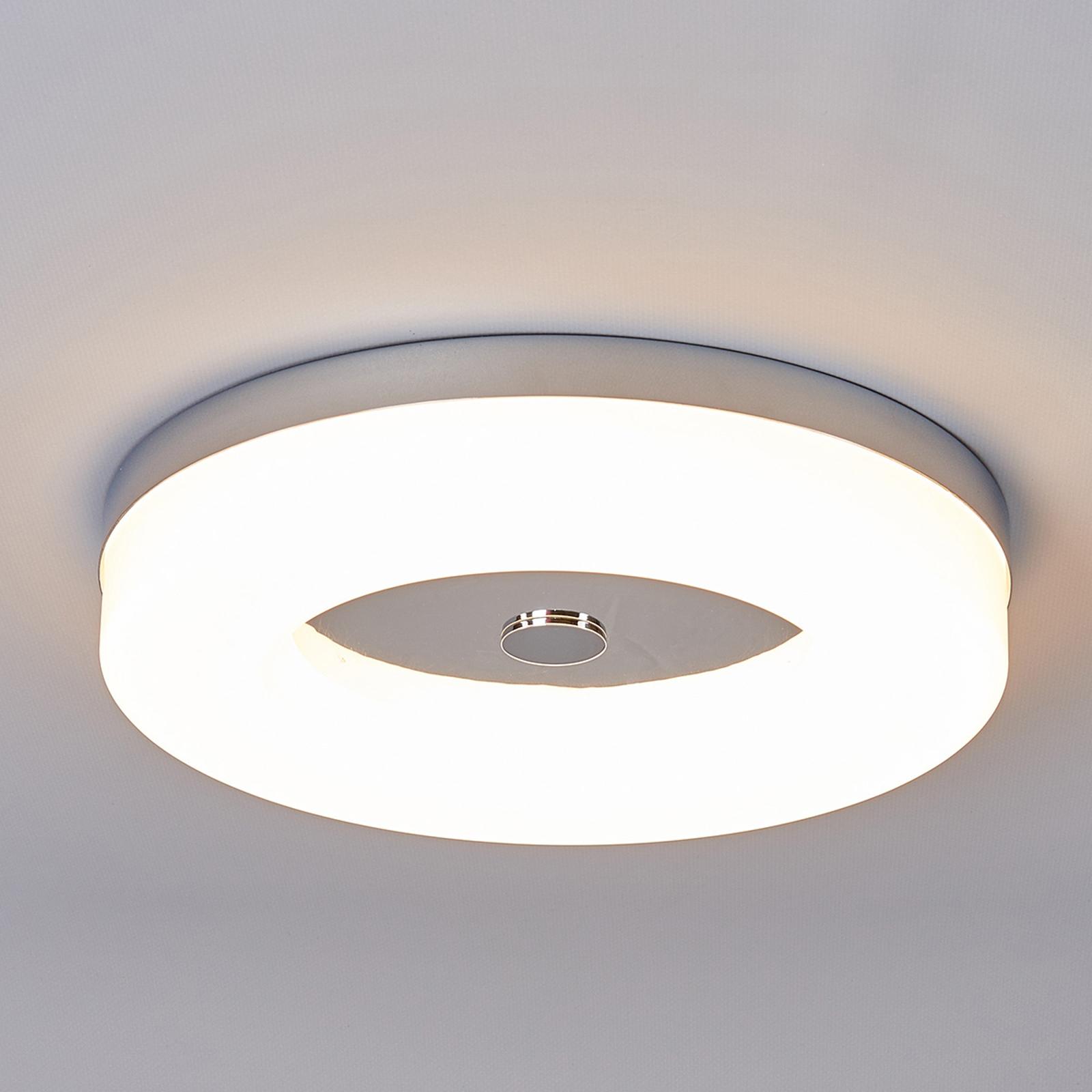 Plafonnier LED Shania en forme d'anneau