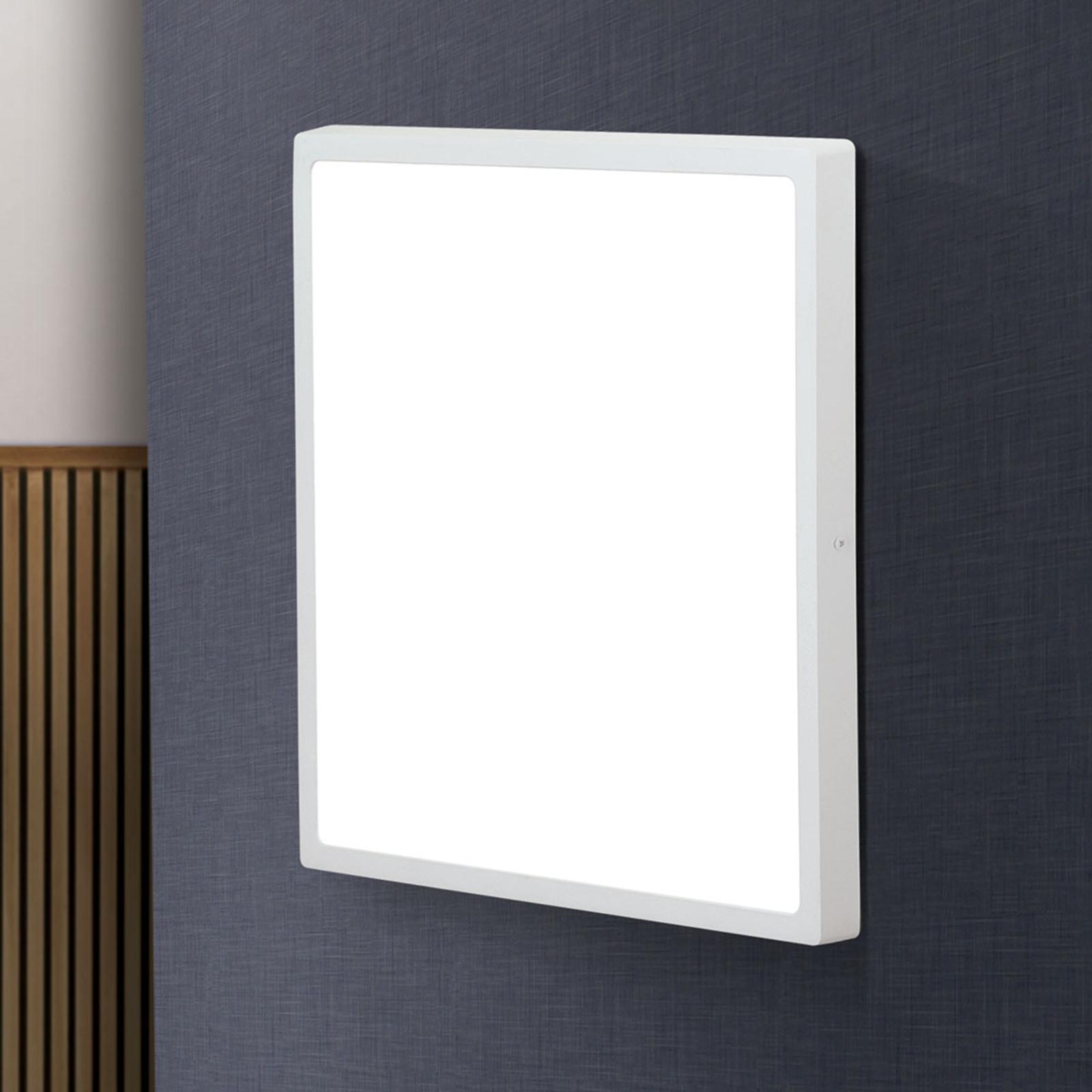 Prostokątna lampa sufitowa LED Lero 40 x 40 cm