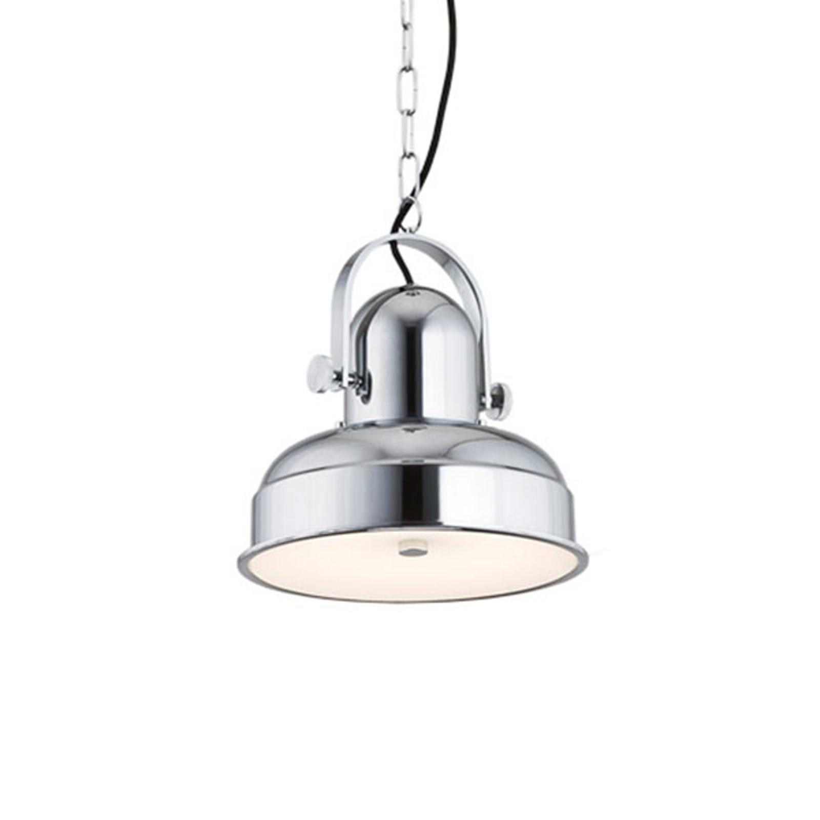 LED-hengelampe Forada, krom