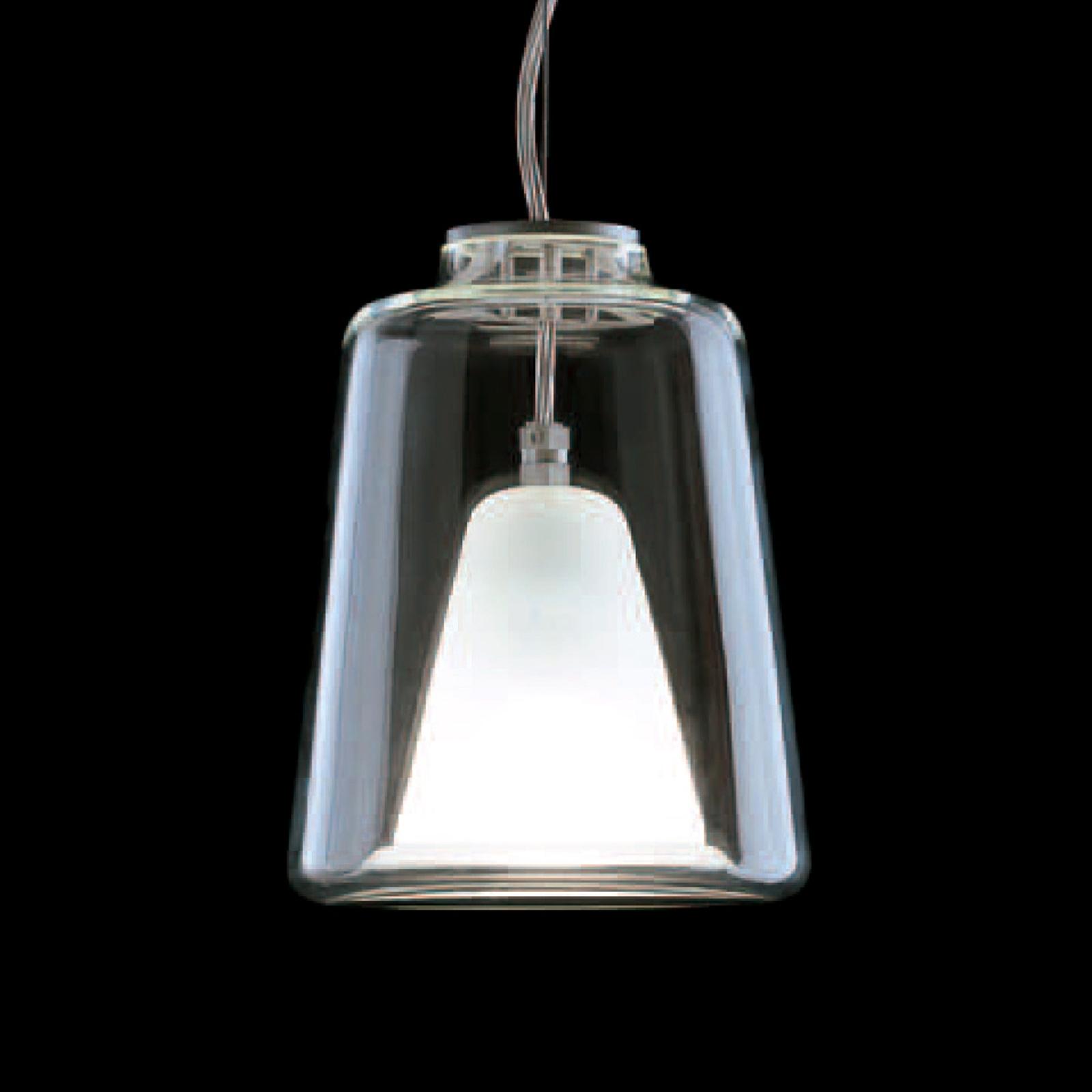 Oluce Lanterna - Murano glas hanglamp