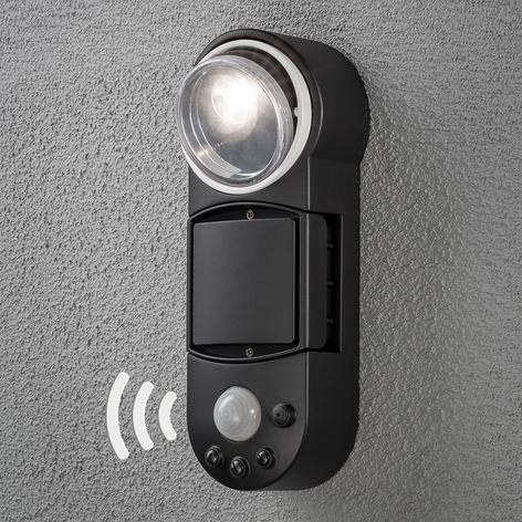 Batteridriven LED-utomhusvägglampa Prato, 10 cm