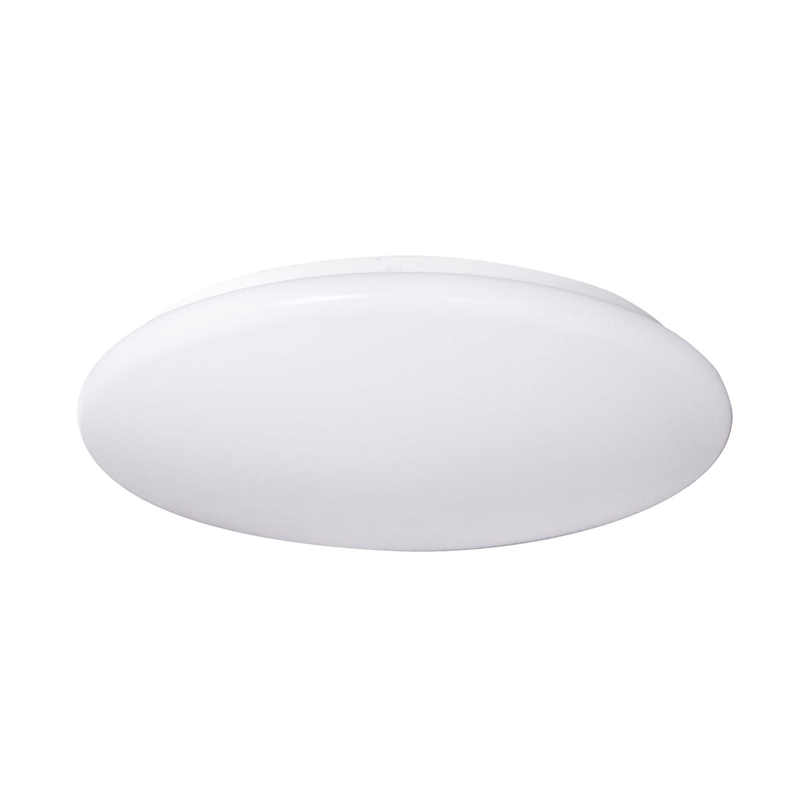 Plafoniera LED Porz IP44 sensore HF, bianco