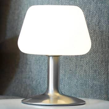 Petite lampe à poser LED Till dimmable, acier