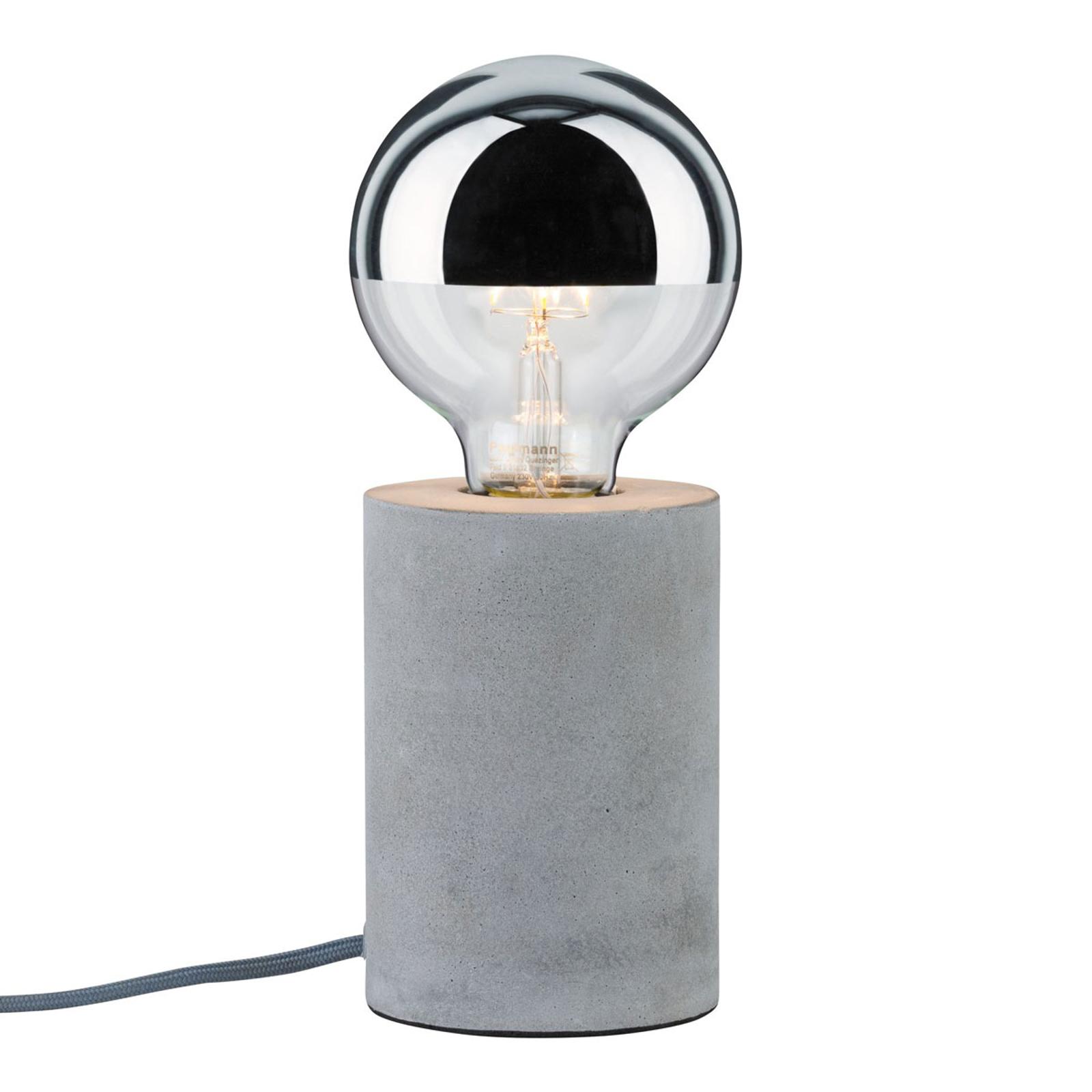 Paulmann Mik lampe à poser en béton