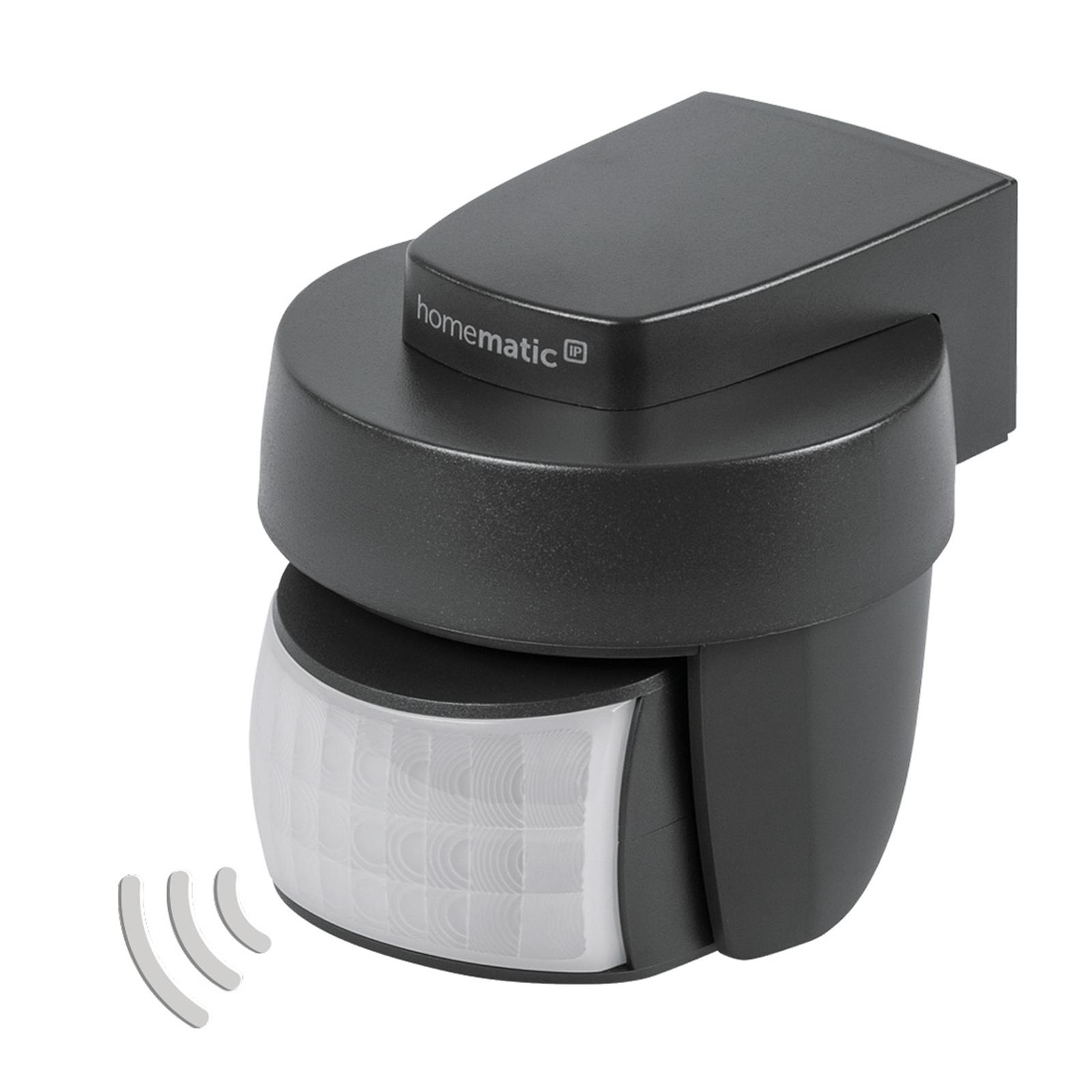 Homematic IP sensor acción/crepuscular antracita
