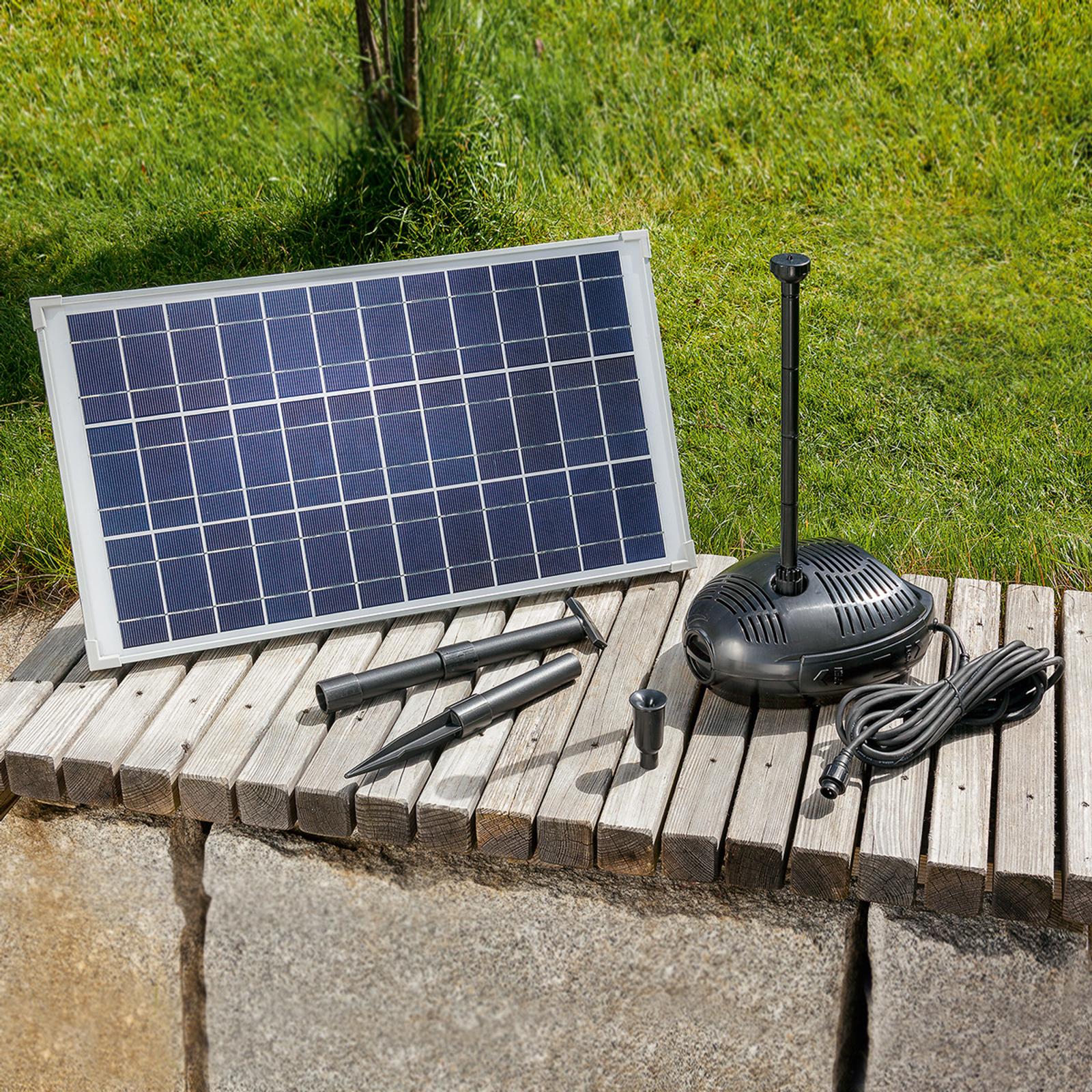 Sistema de bombeo Roma con energía solar