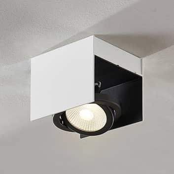Faretto LED Olinka, bianco-nero, 1 punto luce
