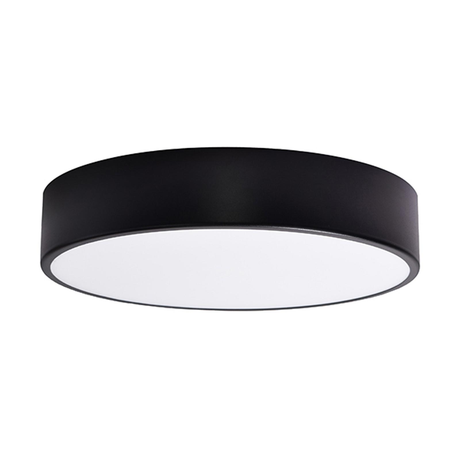 Taklampe Cleo, Ø 40 cm, svart