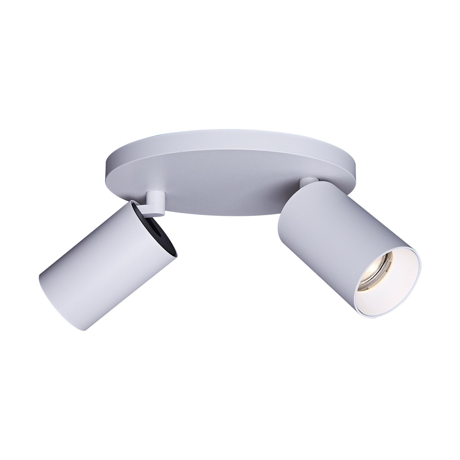 Arcchio Ipega takspotlight, 2 lyskilder, hvit