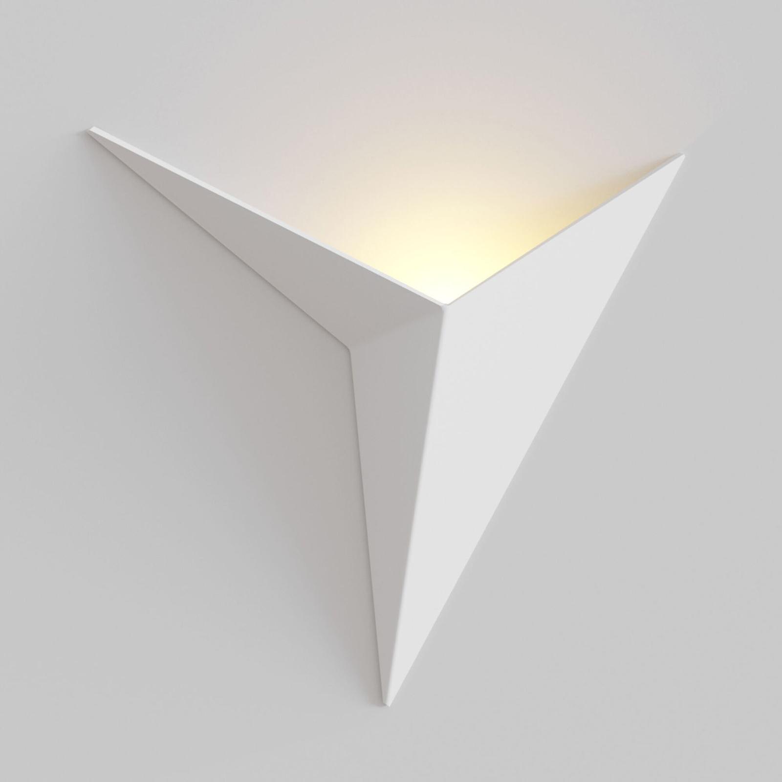 LED-Wandleuchte Trame weiß