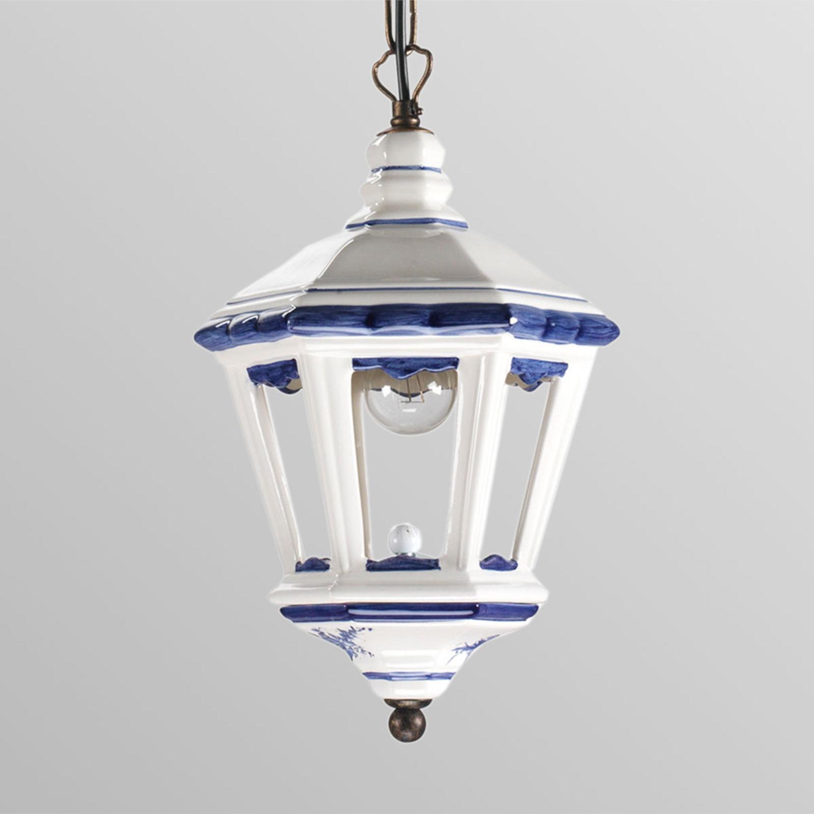 Lanterneformet hængelampe Adonia