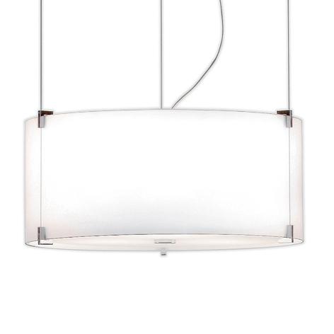 Prandina CPL S7 hanglamp chroom, glas opaal