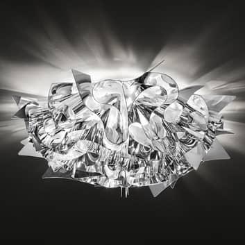 Slamp Veli Medium – design-taklampe, Ø 53 cm, sølv