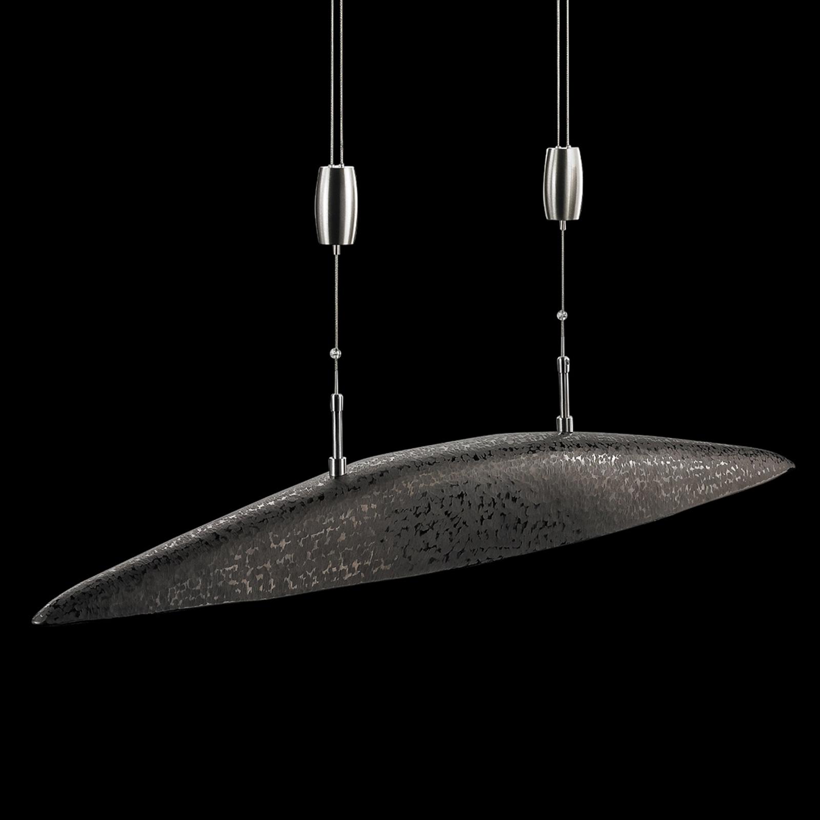 Lampa wisząca LED Shine wygięta ze ściemniaczem