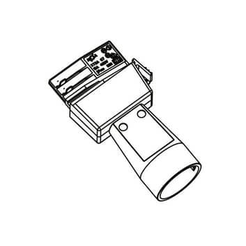 Schuko-Adapter 3-Phasen-Stromschiene Noa