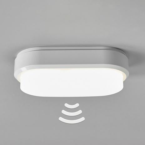 Owalna lampa sufitowa LED Bulkhead z czujnikiem