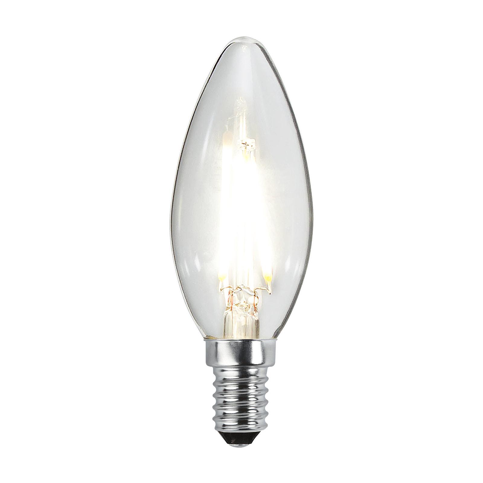 LED-Kerzenlampe E14 B35 2W 2.700K Filament 250lm