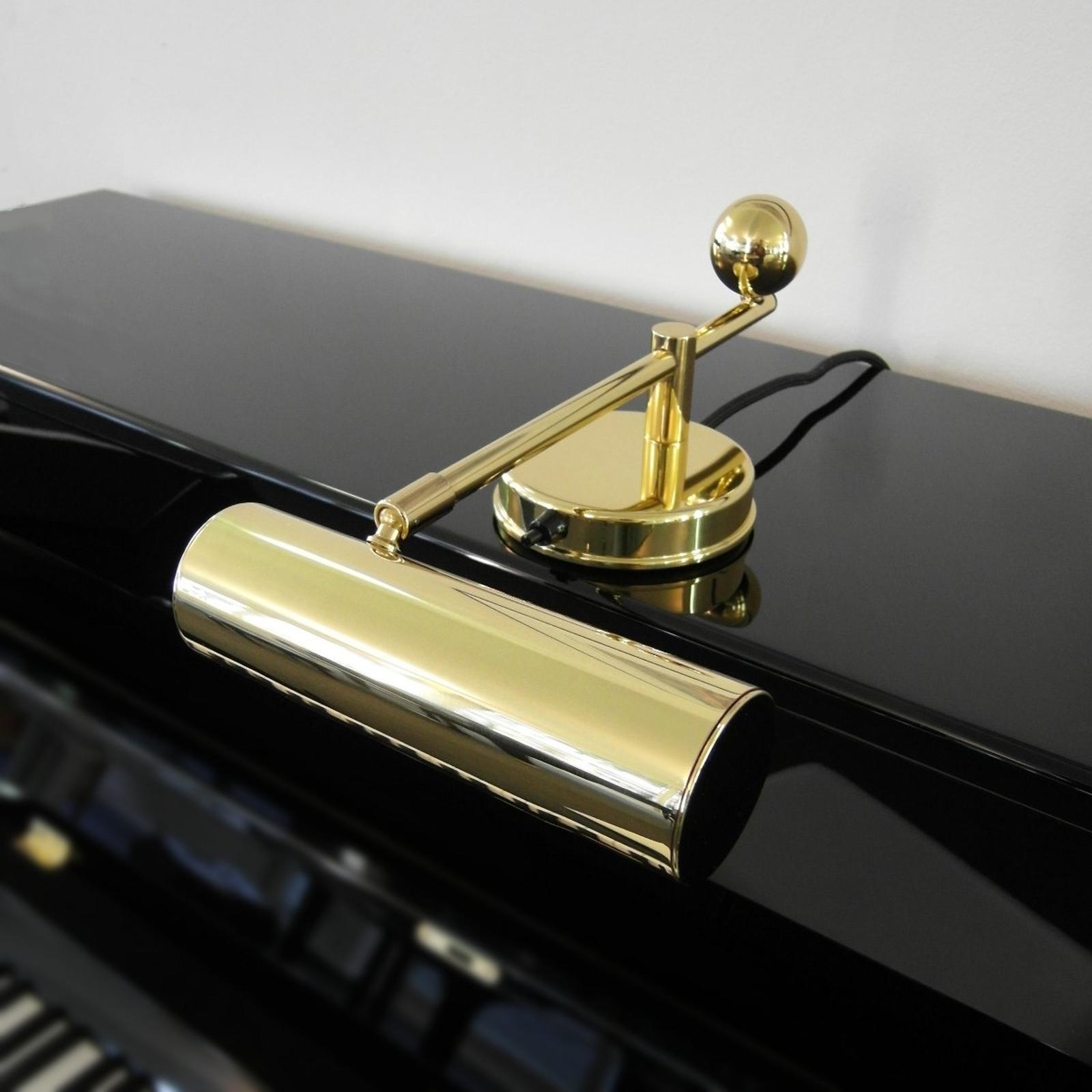Lampe pour piano De Stijl laiton
