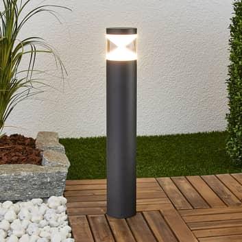LED-marklykta Tamiel i aluminium