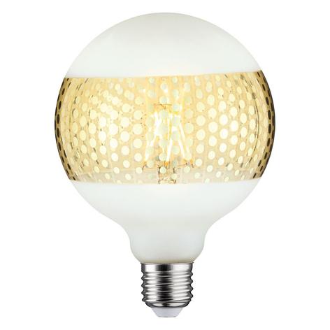 Paulmann E27 LED 4,5W espejo anillo oro puntos