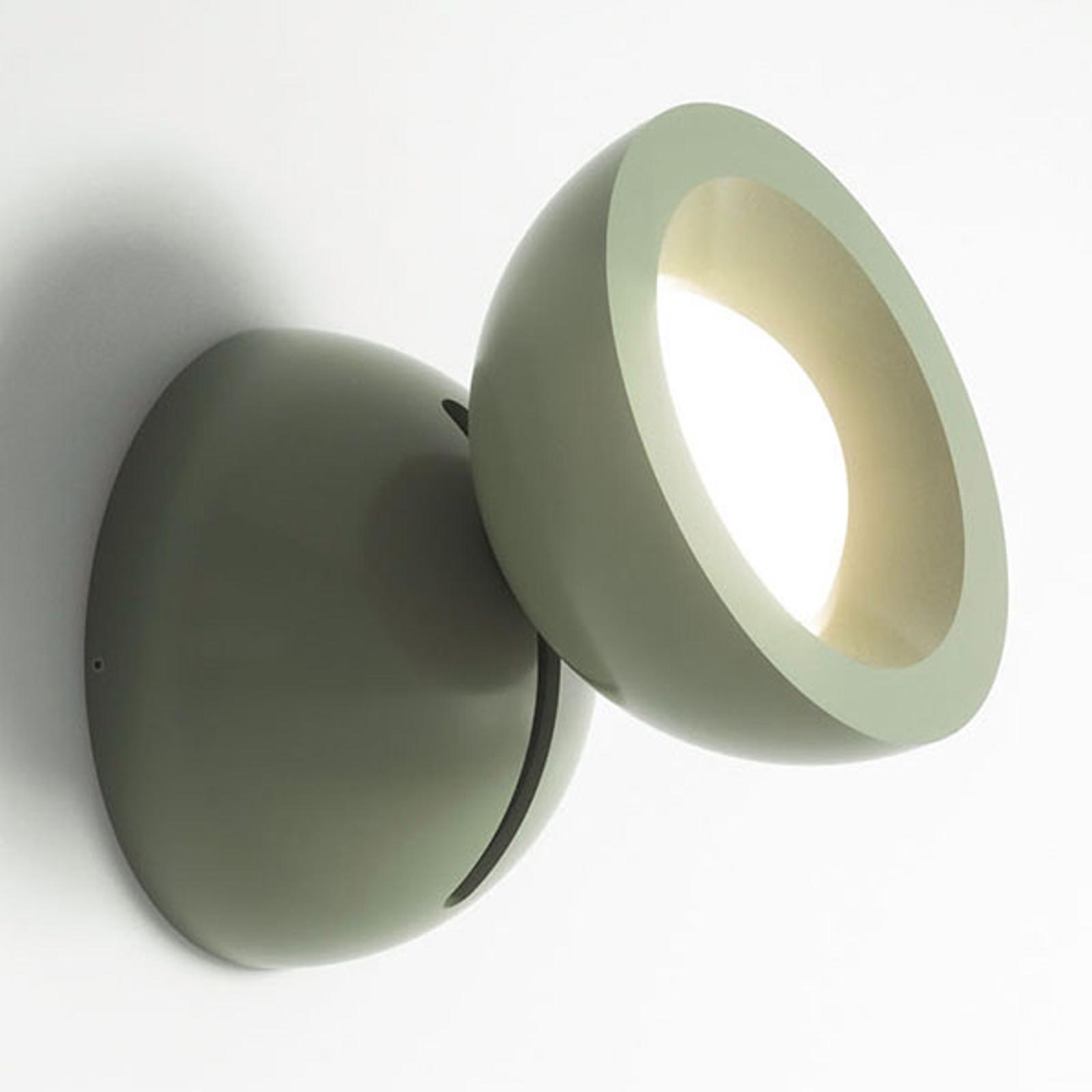 Axolight DoDot applique LED, verte 46°