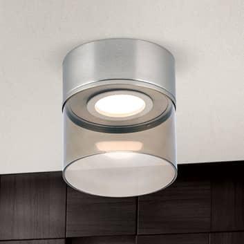 Plafoniera LED Francis nichel satinato