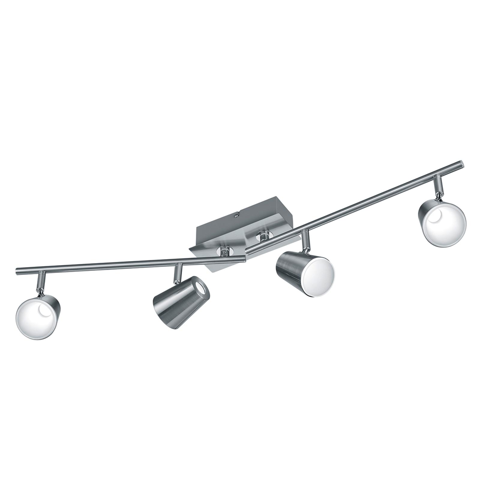 Modern designter LED-Deckenstrahler Narcos 4 fl.