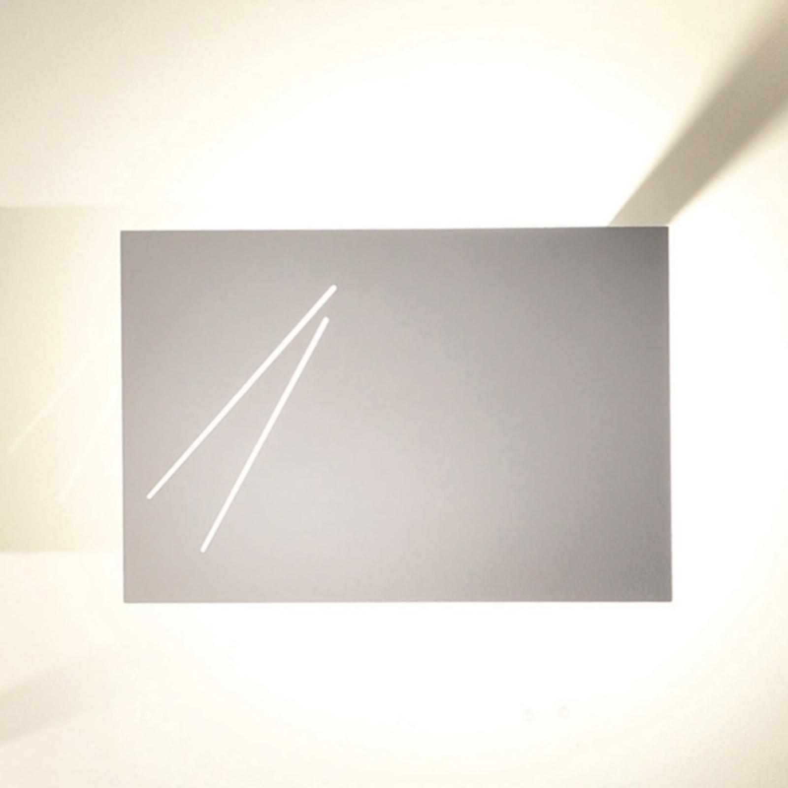 Knikerboker Des.agn - Designer-Wandlampe, weiß