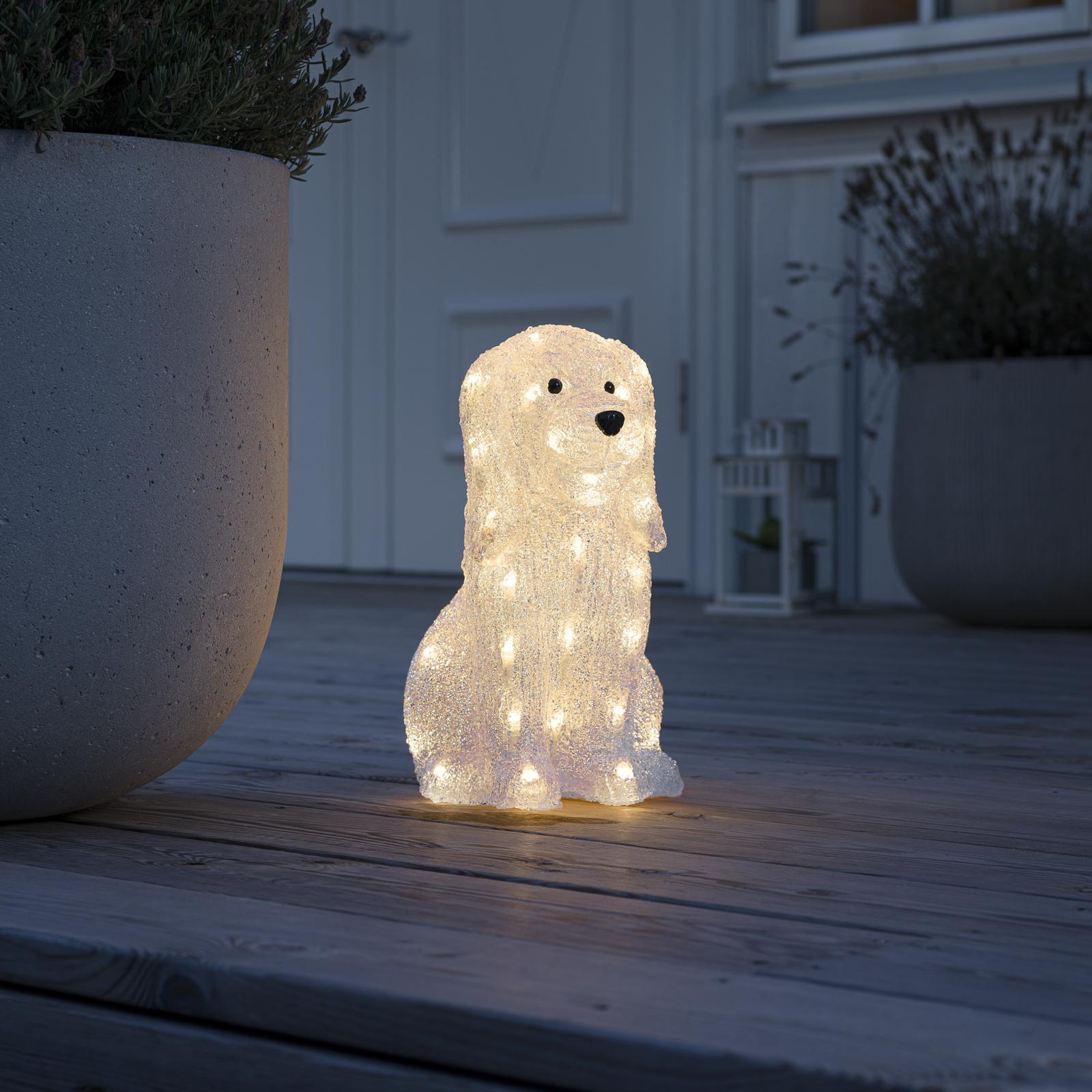 LED-Leuchtfigur Hund
