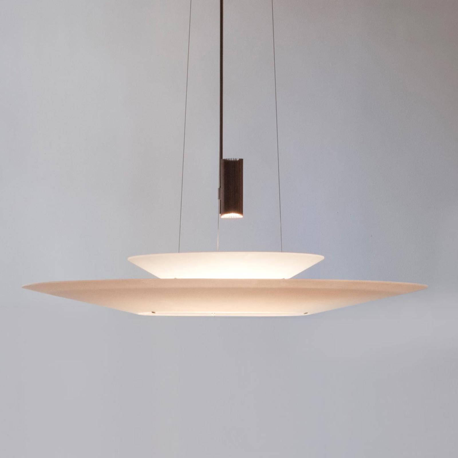 Usædvanlig LED hængelampe Flamingo
