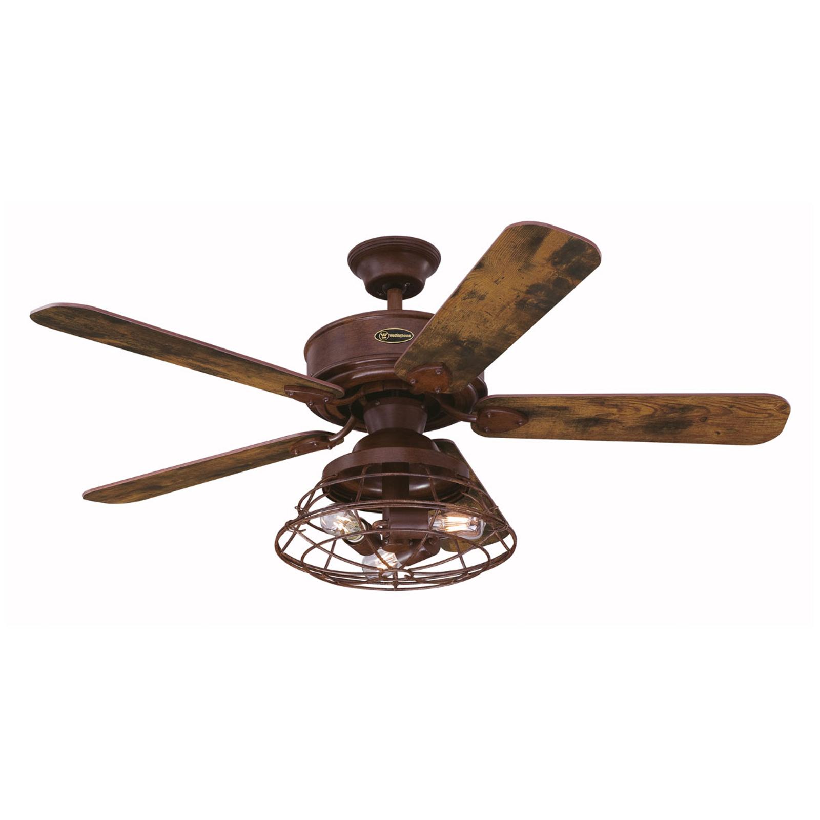 Westinghouse Barnett ventilador de techo, madera