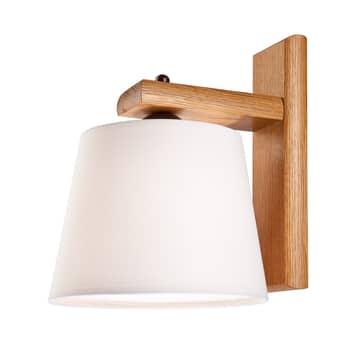 Aplique Sweden, armazón de madera, roble rústico