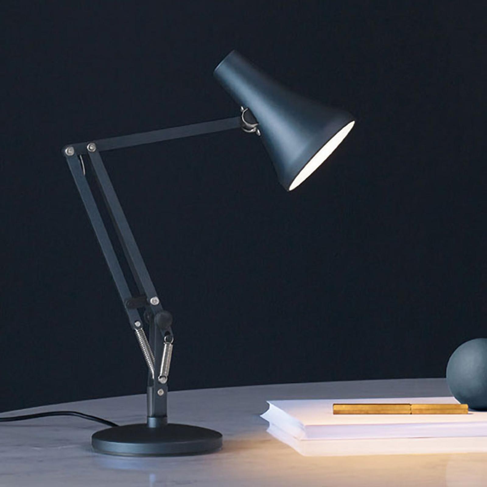 Anglepoise 90 Mini Mini LED-Tischlampe stahlblau