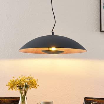 Lindby Entony lampada a sospensione, nero, legno