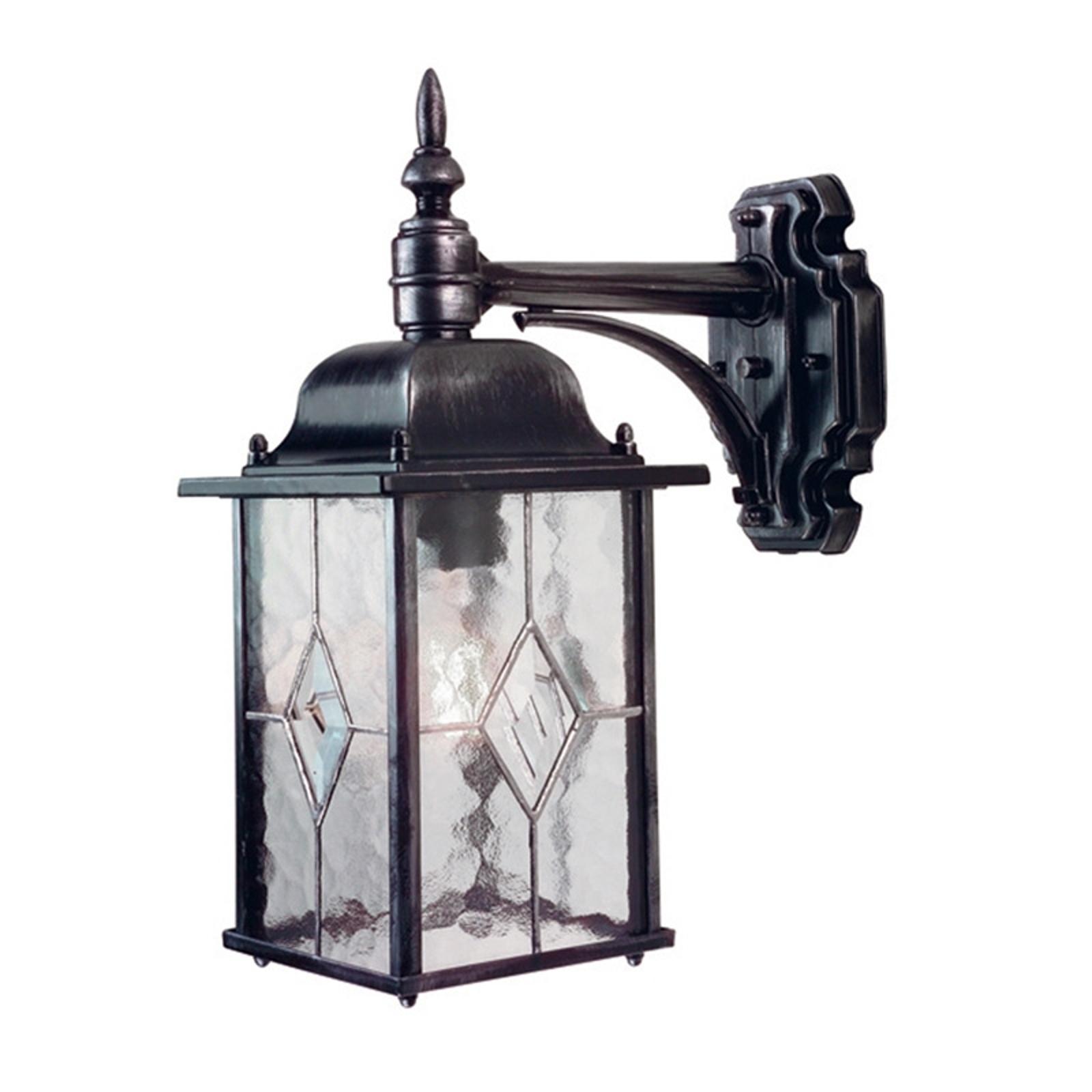 Buitenwandlamp Wexford WX2, lantaarn hangend