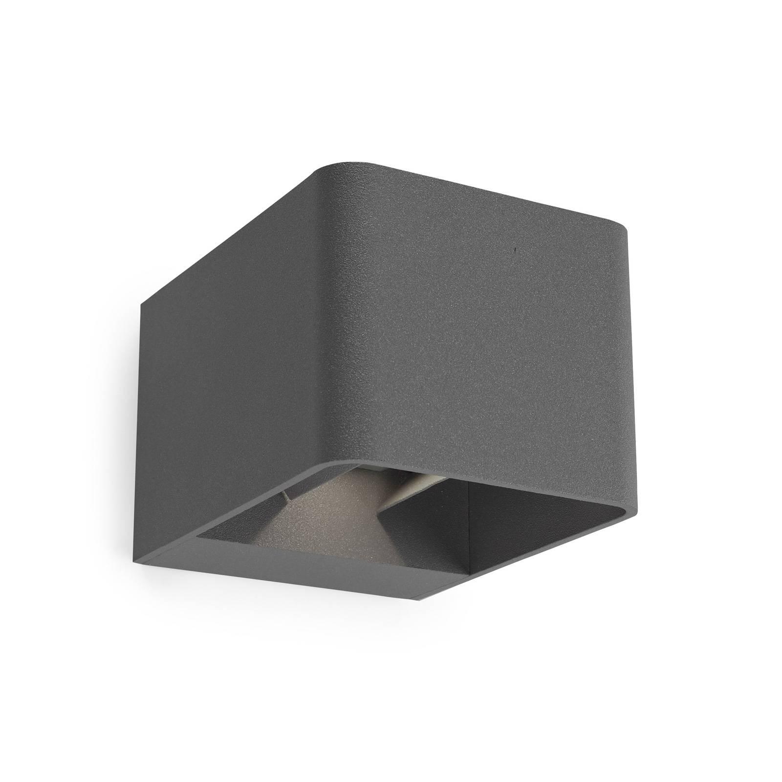 LEDS-C4 Wilson applique ext. LED, 11cm anthracite